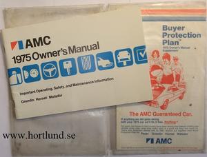 1975 AMC Owner's Manual