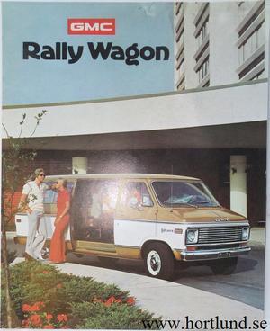 1975 GMC Rally Wagon Broschyr