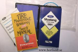 1991 Ford Mustang Owner Guide