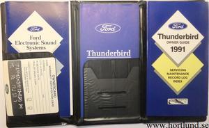 1991 Ford Thunderbird Owner Guide