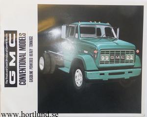 1968 GMC Lastbilar Broschyr