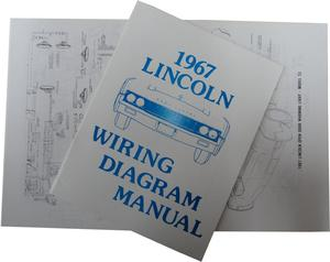 1967 Lincoln Wiring Diagram Manual