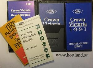 1991 Ford Crown Victoria Owner Guide