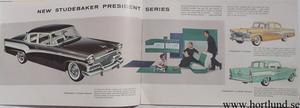1956 Studebaker broschyr