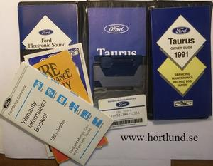 1991 Ford Taurus Owner Guide