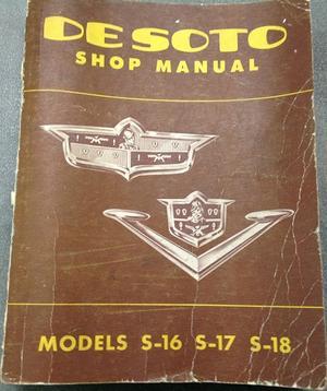 1953 De Soto Shop Manual