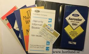 1991 Ford Aerostar Owner Guide