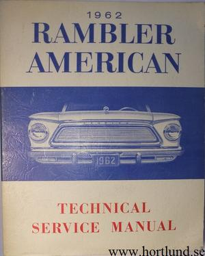 1962 Rambler American Technical Service Manual
