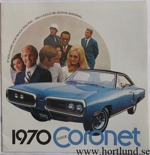 1970 Dodge Coronet Broschyr