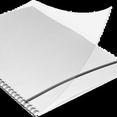 Omslag PVC - Klar transparent