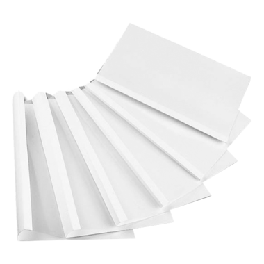 Limbindningsmappar A4 , vita