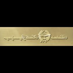 Kliché 10mm mässing - Goldpress 5