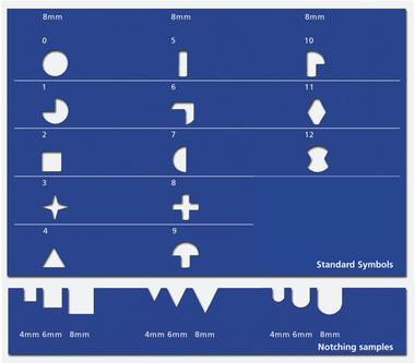 Stansverktyg till Pernuma Figure and Hole Puncher