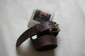 BELT MOOSE/ELK LEATHER 30MM