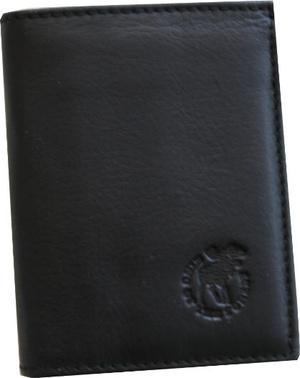 WALLET ELK/MOOSE LEATHER black or brown