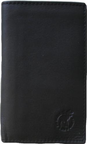 WALLET ELK/MOOSE LEATHER Brown or black