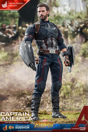 Hot Toys - Captain America Infinity War Movie Promo Edition 1/6 figure