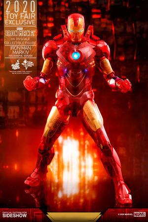 Hot Toys - Iron Man Mark IV (Holographic Version)