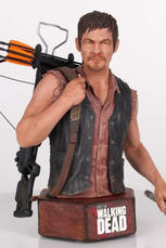 Daryl Dixon The Walking Dead Mini Bust