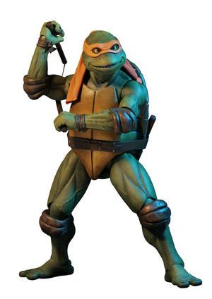 NECA - 1/4 SCALE Michelangelo figure - Turtles 1990 Movie