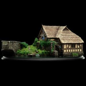 Weta - Hobbiton Mill and Bridge  Collectible Environment