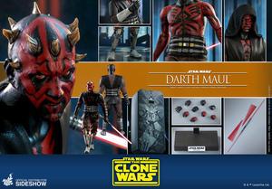 Hot Toys - Darth Maul Clone wars Sixth Scale Figure