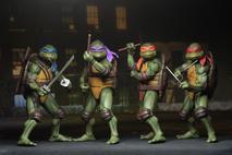 """NECA - Teenage Mutant Ninja Turtles 1990 Movie 7"""" Action figures  set of 4"""