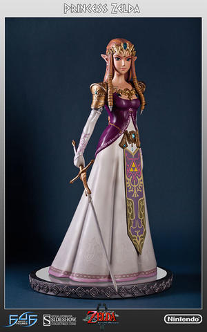 First 4 Figures - Princess Zelda Twilight 1/4 Scale Statue