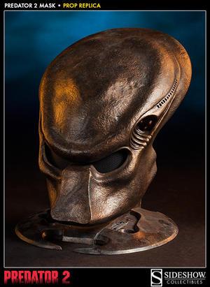 Predator 2  Mask Prop Replica Sideshow Collectibles