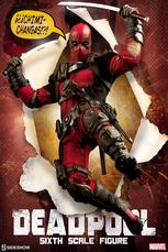 Sideshow Collectibles - Deadpool Sixth Scale Figure