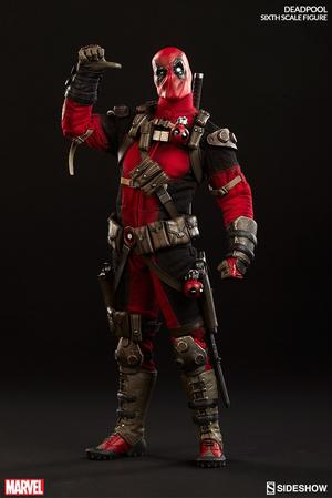 Sideshow Collectibles - DeadpoolSixth Scale Figure