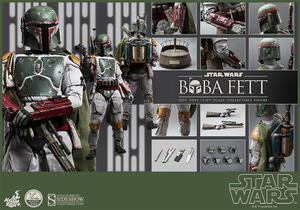 Hot Toys - Boba Fett 1/4 Quarter Scale Figure