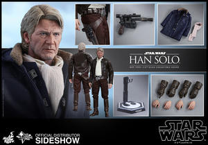 Star Wars the Force Awakens: Han Solo Sixth Scale Figure