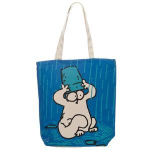 Simon's cat ny blå väska
