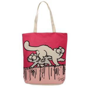 Simon's cat ny rosa väska