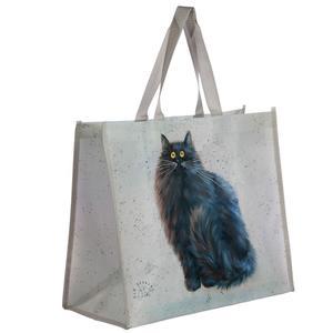 Kim Haskins väska med svart katt