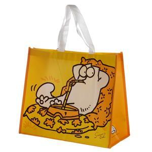 Simons gula shoppingbag