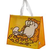 Simons gula shoppingbag