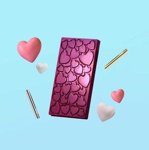 """Pralinform från Martellato """"Chokladkaka hjärtan"""""""
