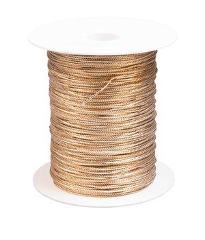 Band till pralinaskar och cellofanpåsar guld