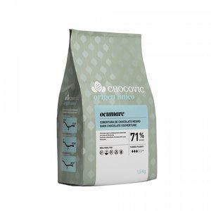 Mörk Choklad Ocumare Pellets 71,1%