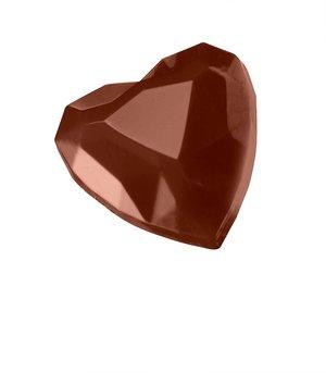 """Pralinform från Martellato """"Diamant hjärtan"""""""