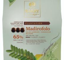 Mörk choklad 65%, Madirofolo Ekologisk Pistoles 1 kilo Cacao Barry