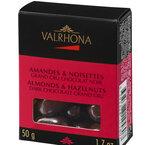 Valrhona Equinoxe mandel/hasselnöt mörk 50 g