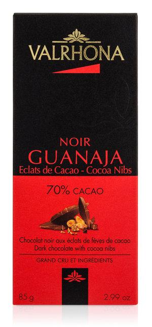 Valrhona Chokladkaka Guanaja Cocoa nibs 70% 85 g