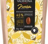 Ljus choklad Jivara 40%, Valrhona, 250 g