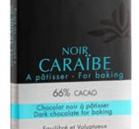 Mörk choklad Caraibe 66%, Valrhona, 250 g