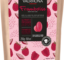 Valrhona Inspiration Hallon smaksatt choklad 250 g