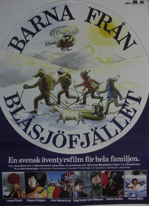 Barna från Blåsjöfjället