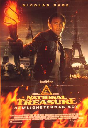 National Treasure-Hemligheternas Bok